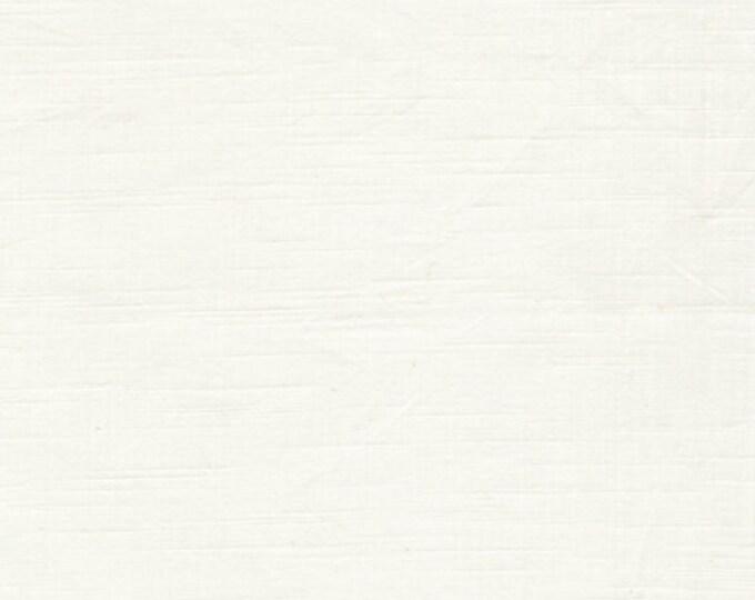 Textured Solid - White Lies - 1 yard