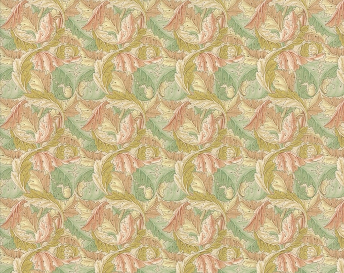 William Morris Acanthus 1875 Natural 730411 - 1/2yd