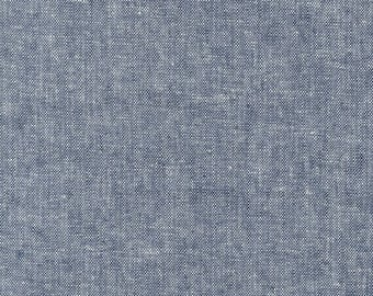 Essex Yarn Dyed Indigo - 1/2yd