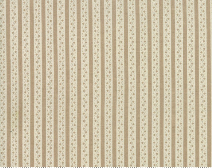 Caroline -  Ticking Stripe Tan 1865615 - 1/2yd