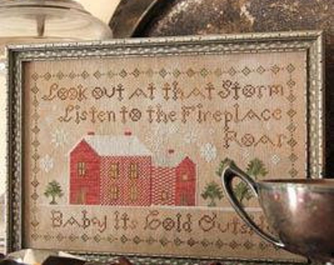 Baby, Its Cold Outside - Heartstring Samplery - Cross Stitch Chart
