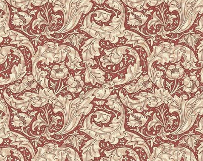 Morris & Co - Kelmscott Bachelor's Button Red PWWM003 - 1/2yd