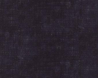 Indigo - Ikat Washed Denim Flax M3290717 - 1/2yd