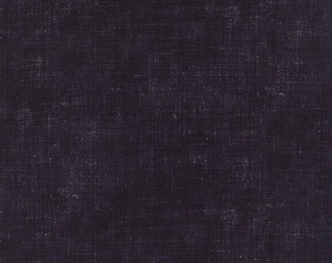 Indigo - Ikat Washed Denim Flax M3290717 - 1/2yd