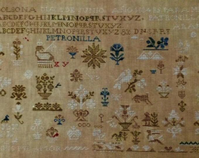 Patronilla Arandes 1834 - NeedleWorkPress - Cross Stitch Chart