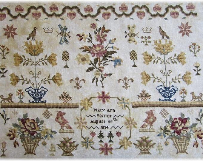 Mary Ann Farmer - Scarlett House - Cross Stitch Chart