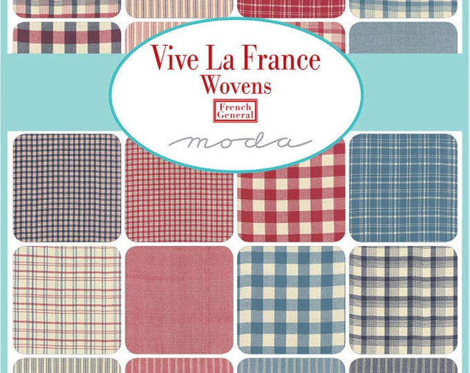 Vive la France - Wovens - 30 x FQ Bundle