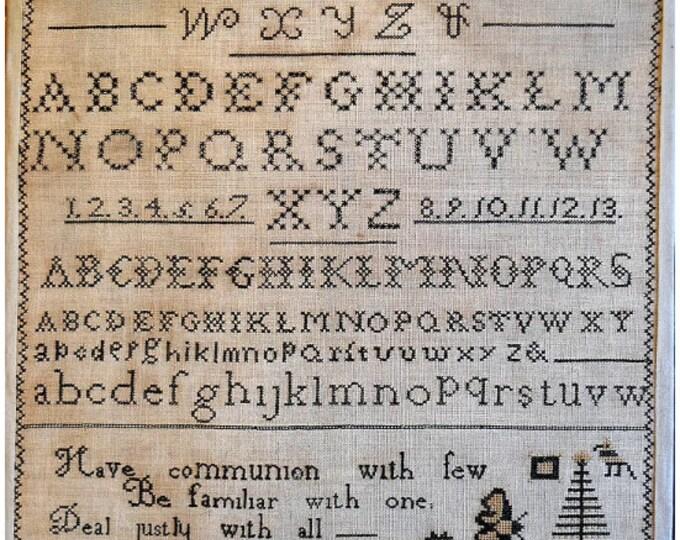 Hannah Carter - Shakespeare's Peddler - Cross Stitch Chart