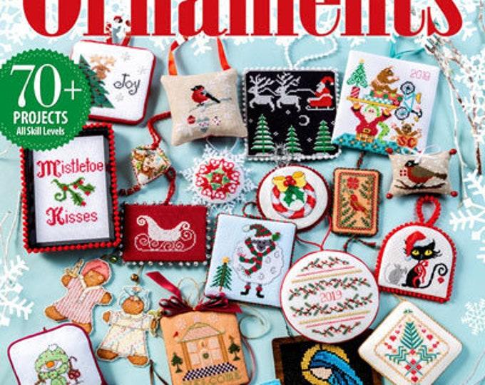 Just Cross Stitch 2019 Christmas Ornaments Issue - Cross Stitch Chart