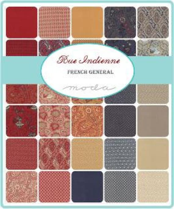 Rue Indienne by French General - Mini Charms