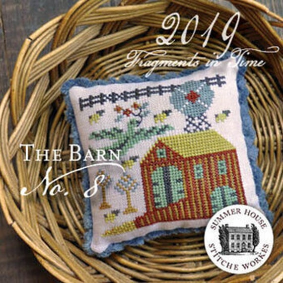 Fragments in Time 2019 No.8 - Summer House Stitch Workes - Cross Stitch Chart