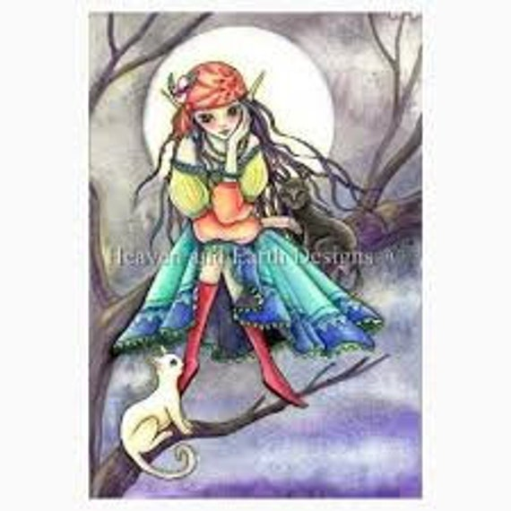 The Visitor - Heaven and Earth Designs - Cross Stitch Chart