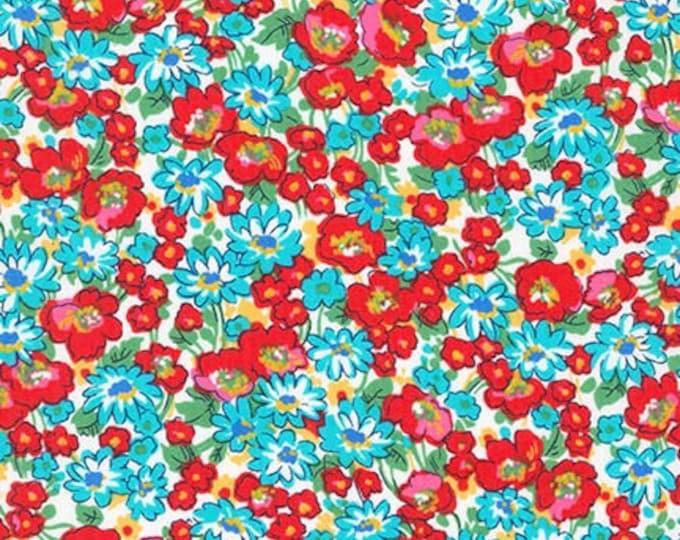 London Calling Lawn 6 - Floral Multi - 1/2 yard