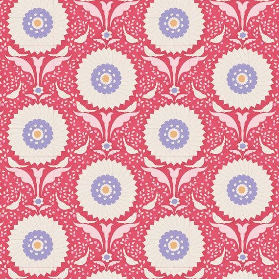 TILDA Bon Voyage - Ringflower Red 100251 - Fat Quarter