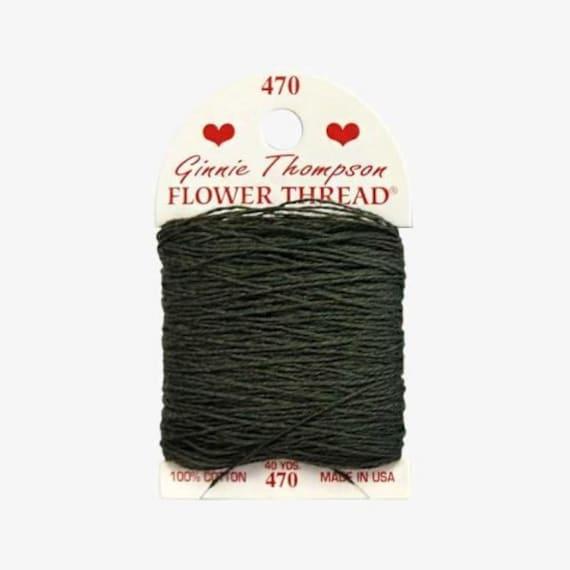 Ginnie Thompson Flower Thread - #470