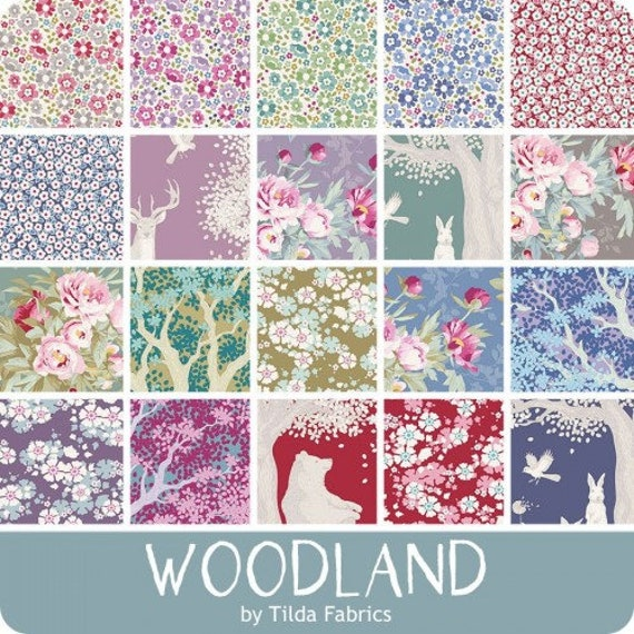 TILDA Woodland -  20 x 1/2 yard Bundle
