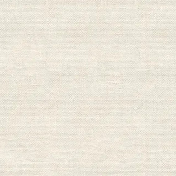 Devonstone Linen/Cotton - Ivory DV4103 - 1/2 yd x 54 inches