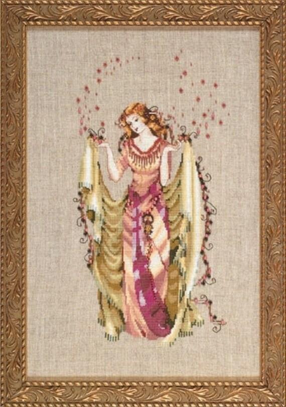 The Forest Goddess - Mirabilia - Cross Stitch Chart