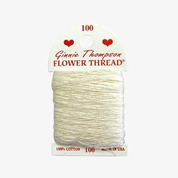Ginnie Thompson Flower Thread - #100