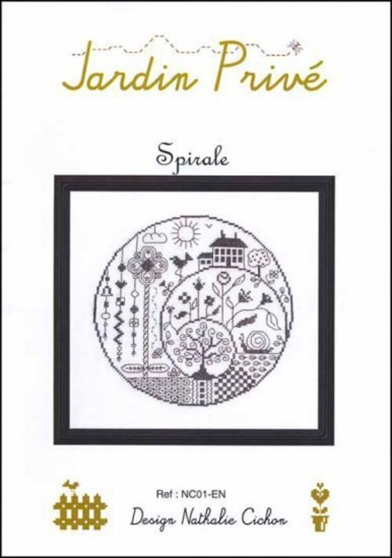 Spirale - Jardin Prive - Cross Stitch Chart