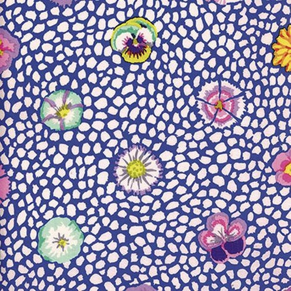 Kaffe Fassett Collective PWGP059 Blue - 1/2yd