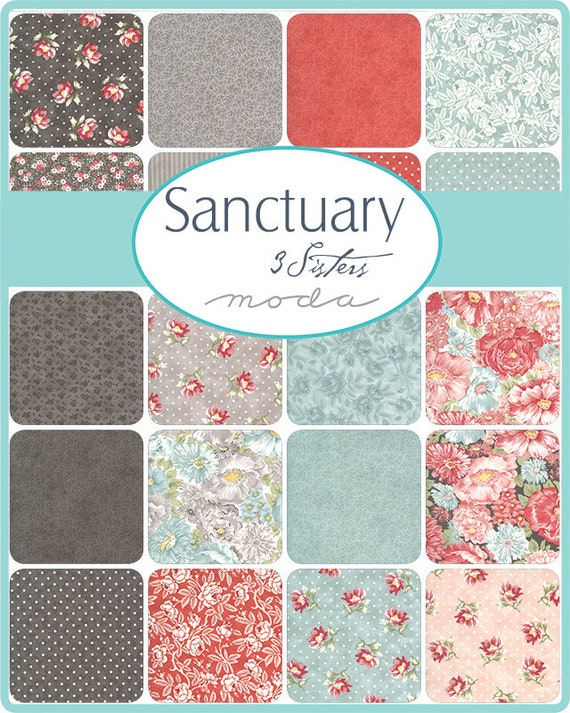 Sanctuary - 3 Sisters - 40 x FQ Bundle
