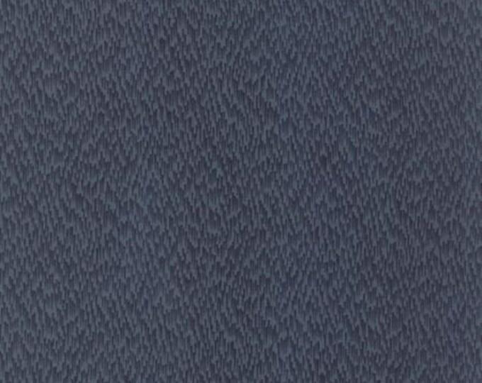 Sticks and Stones Driftwood Dark Blue - 1/2yd