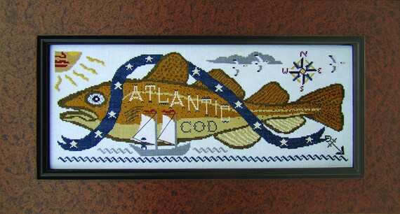 Atlantic Cod - Carriage House Samplings - Chart Only