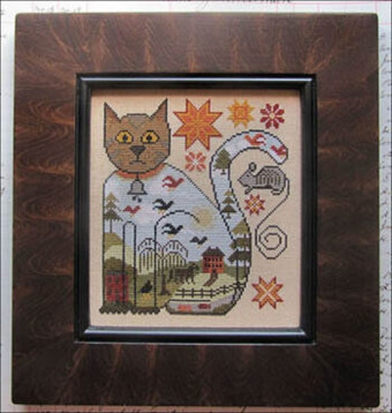 Cat and Mouse by Kathy Barrick - Chart Only