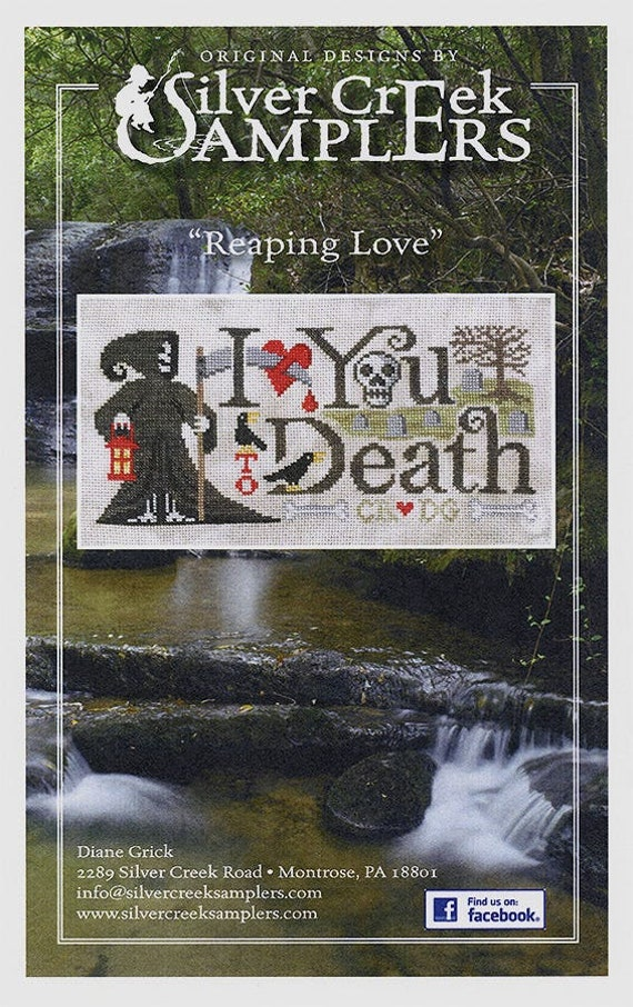 Reaping Love - Silver Creek Samplers - Cross Stitch Chart