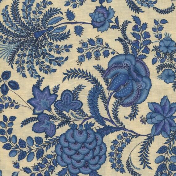 Dutch Heritage - China Blue 2034 - 1/2yd