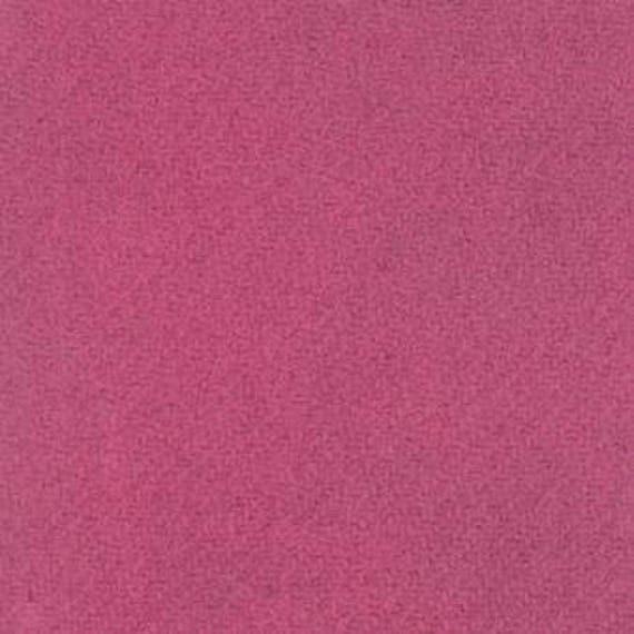 Moda 100% Wool Magenta 5481045 - 1/2 yd x 54 inches