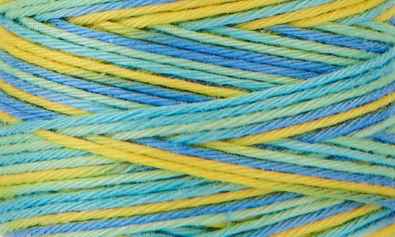 Hidamari - COSMO Sashiko Thread - 89-304 Multicolour Sour Candy
