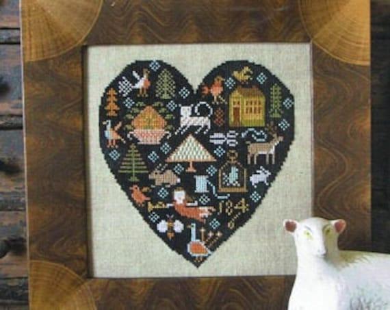 Black Heart - Kathy Barrick - Chart Only