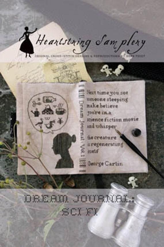 Dream Journal: Sci-Fi - Heartstring Samplery - Cross Stitch Chart