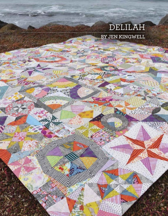 Delilah Quilt Pattern Booklet by Jen Kingwell