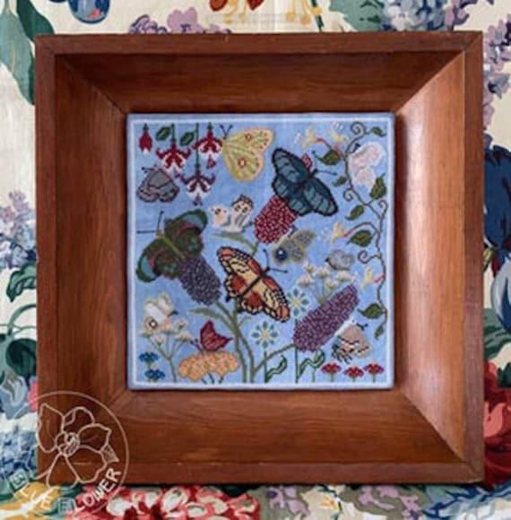 Butterfly Garden - The Blue Flower - Chart Only