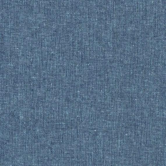 Essex Yarn Dyed - Peacock 0641282 - 1/2yd