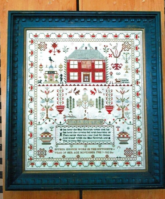 Esther Iddison 1832 - Chessie and Me - Cross Stitch Chart