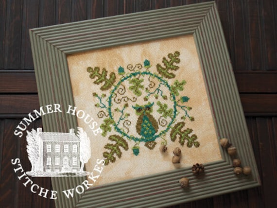 Sophia - Summer House Stitch Workes - Cross Stitch Chart