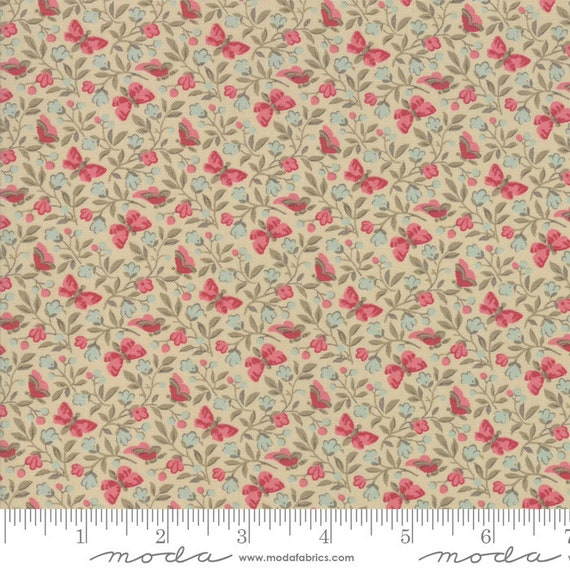 Le Beau Papillon - French General - 1386416 - 1/2yd