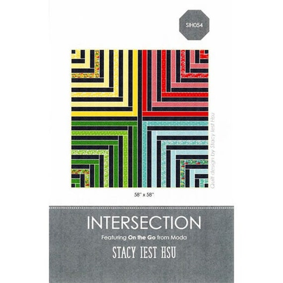 Intersection Quilt Pattern by Stacy Iest Hsu