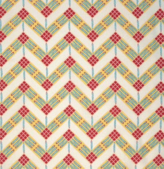 Feathered Zigzag Desert - 1yd