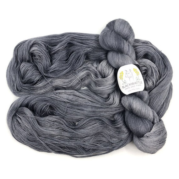 Blackwattle - Lilly Pilly 2ply Lace - Submarine Grey