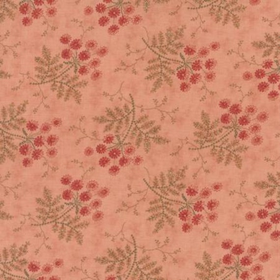 Larkspur Whispering Sprays Pink - 1/2yd