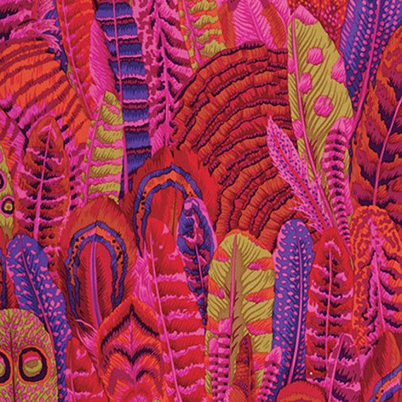 Kaffe Fassett Collective PWPJ055 Red - 1/2yd