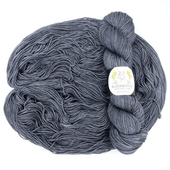 Black Wattle - Sweet Pea 4 ply - Submarine Grey