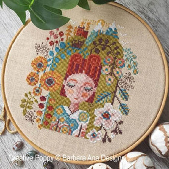 Garden of Dreams - Barbara Ana Designs - Cross Stitch Chart