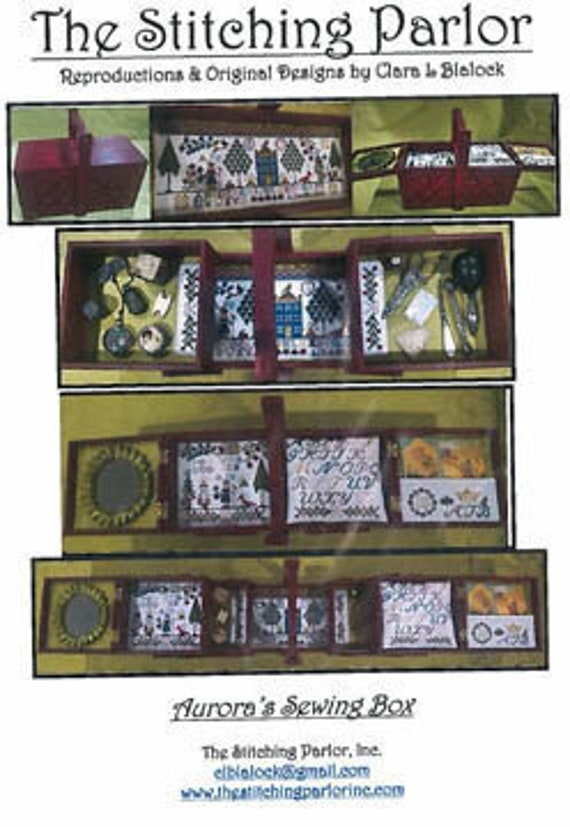 Aurora's Sewing Box - The Stitching Parlor - Cross Stitch Chart