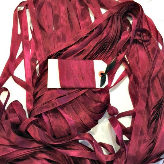 Ribbon 9/16 inch by Lady Dot Creates - Chianti - 3 yds
